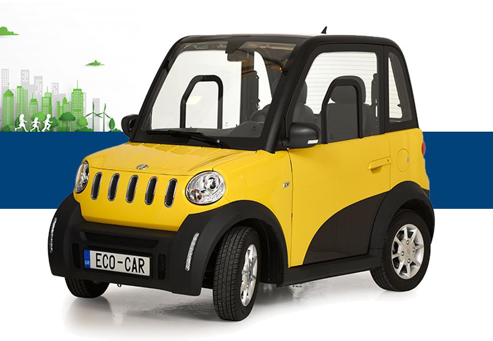 Ecocar Ηλεκτρικό Αυτοκίνητο Πόλης