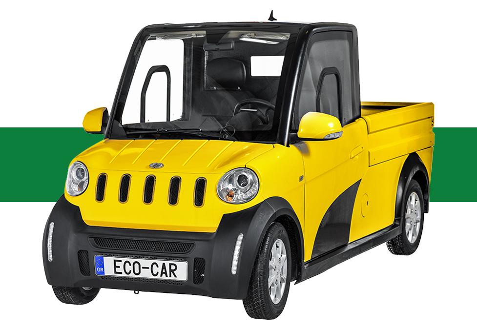 Ecocar Ηλεκτρικό Επαγγελματικό Αυτοκίνητο Pick Up