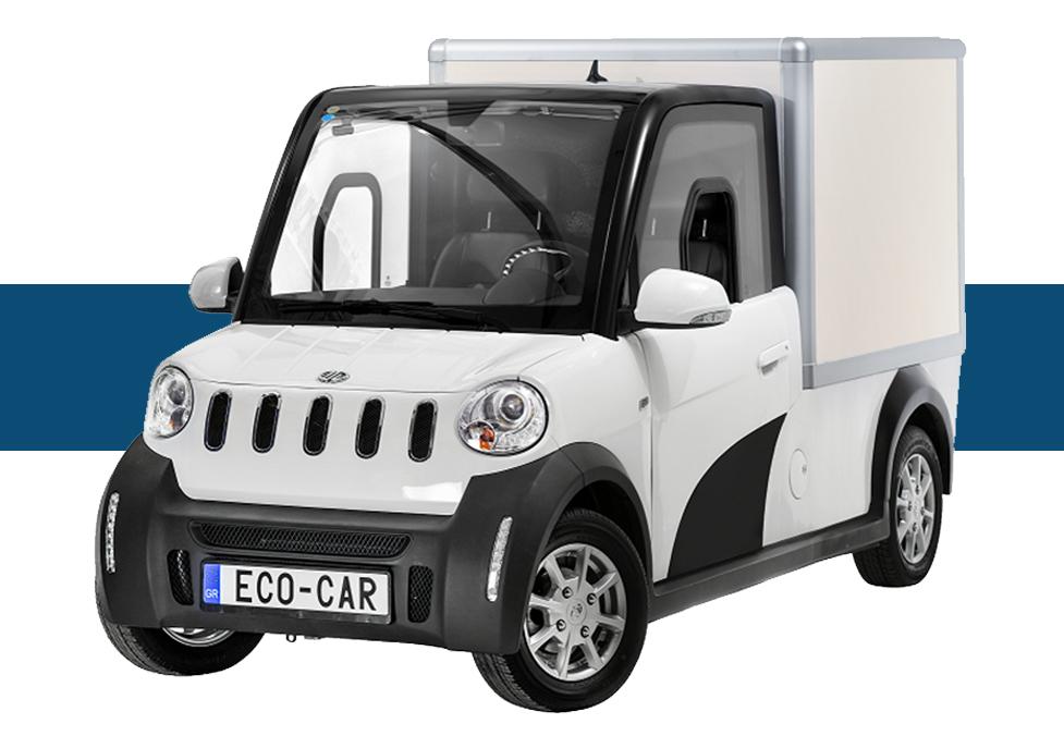 EcoCar Ηλεκτρικό Επαγγελματικό Van Ψυγείο