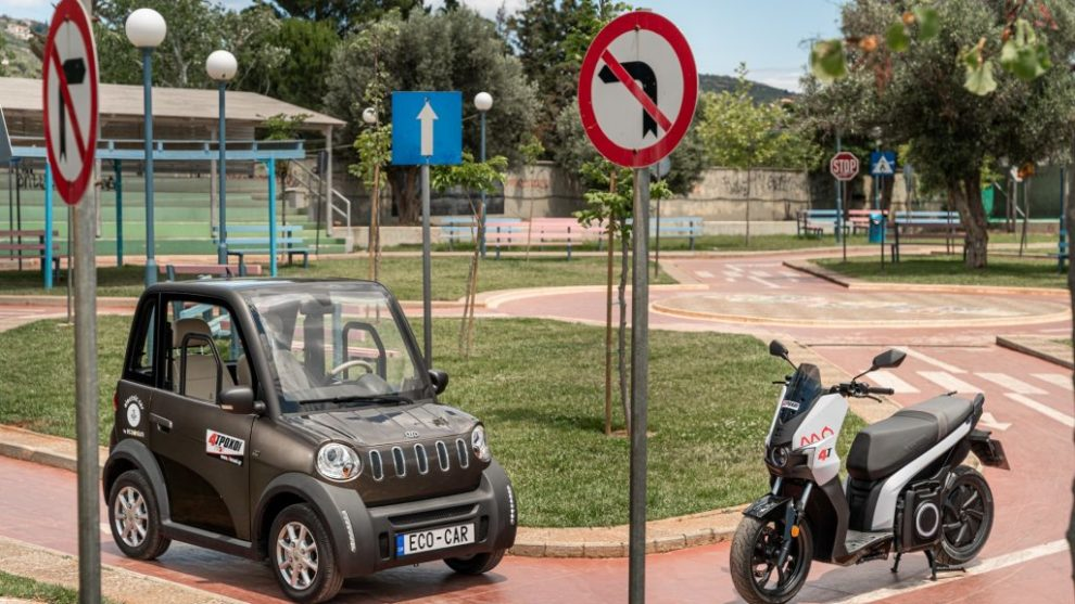 Ecocar High Speed – Seat MO eScooter 125: Μικρόκοσμος 4 troxoi